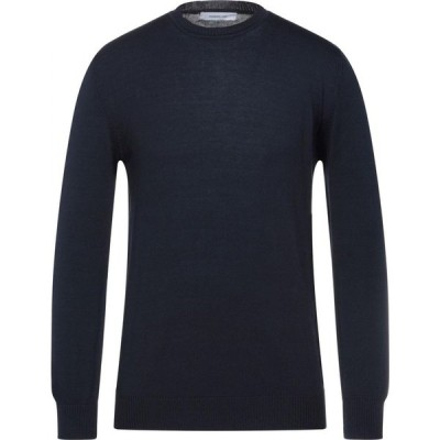 ハマキホ HAMAKI-HO メンズ ニット・セーター トップス sweater Dark blue