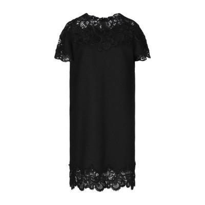 エルマノ シェルヴィーノ ERMANNO SCERVINO ミニワンピース&ドレス ブラック 46 ウール 70% / シルク 20% / カシミヤ