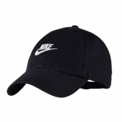 NIKE ナイキ キャップ H86 FUTURA WASHED CAP ヘリテージ アジャスタブル キャップ  メンズ レディース [913011-010]