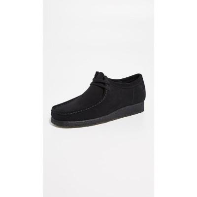 クラークス Clarks メンズ 革靴・ビジネスシューズ シューズ・靴 Suede Wallabee Shoes Black