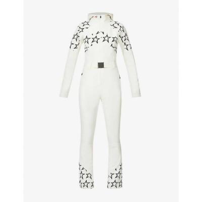 パーフェクト モーメント PERFECT MOMENT レディース オールインワン ジャンプスーツ Tignes star-print stretch-woven jumpsuit Snow White Black Star