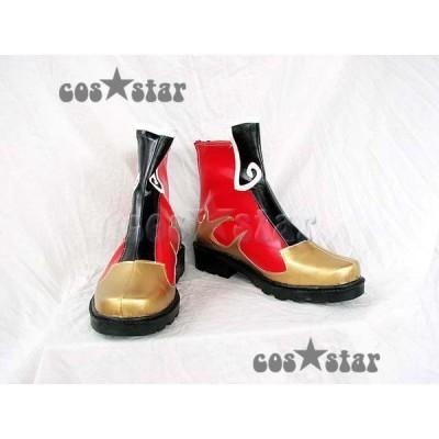 三國無双 周瑜風 コスプレ コスプレ衣装 コスチューム靴 ブーツ