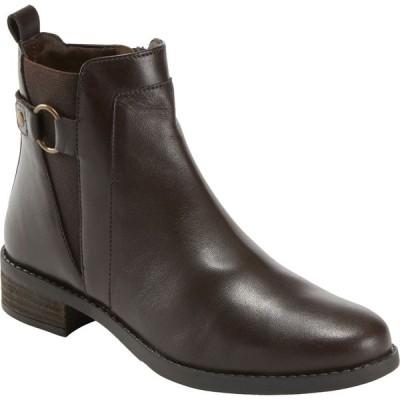 カルソーアースシューズ EARTH レディース ブーツ シューズ・靴 Alana Santry Bootie Dark Brown Leather