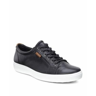 エコー メンズ スニーカー シューズ Men's Soft 7 Sneaker Black