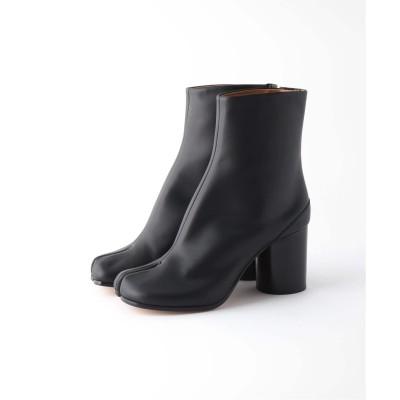 レディース プラージュ 【Maison Margiela/メゾンマルジェラ】VINTAGE SOFT LEATHER TAB ブーツ ブラック 35