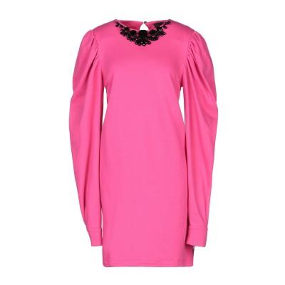 ジジル JIJIL ミニワンピース&ドレス フューシャ 44 コットン 100% ミニワンピース&ドレス
