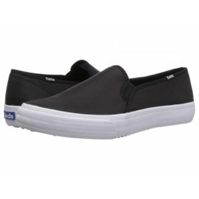 Keds ケッズ レディース 女性用 シューズ 靴 スニーカー 運動靴 Double Decker Leather Black【送料無料】