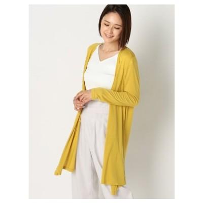 MEW'S REFINED CLOTHES(ミューズ)UVカットドレープカーディガン