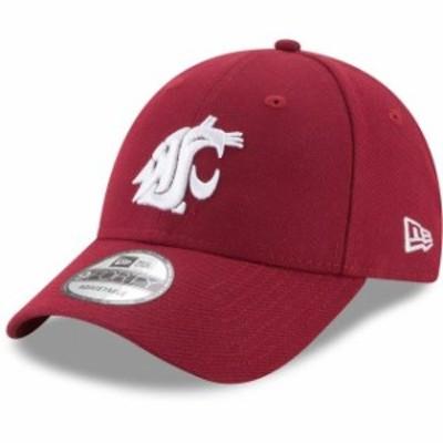 New Era ニュー エラ スポーツ用品  New Era Washington State Cougars Crimson The League 9FORTY Adjustable Hat