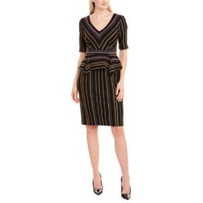 ナネットレポー レディース ワンピース トップス Nanette Lepore Sheath Dress black multicolor