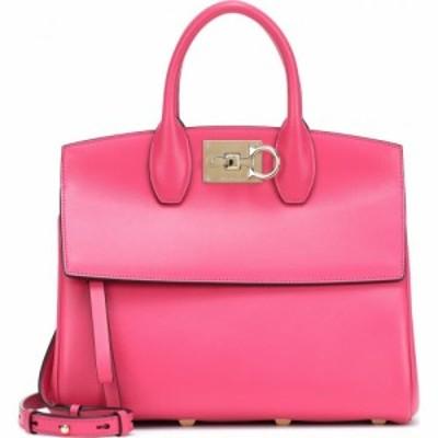 サルヴァトーレ フェラガモ Salvatore Ferragamo レディース トートバッグ バッグ studio small leather tote Light Phoenix Pink