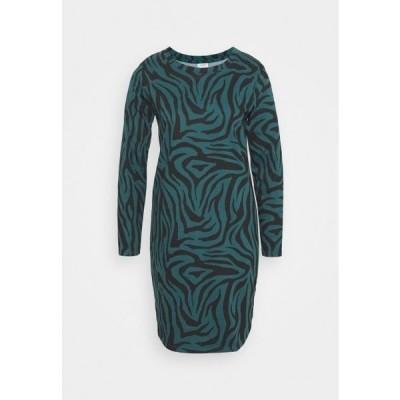 ジェイディーワイ レディース ドレス JDYIVY LIFE DRESS - Day dress - atlantic deep/black
