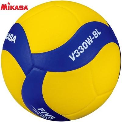 ミカサ 鈴入りバレーボール5号 V330W-BL 名入れ可