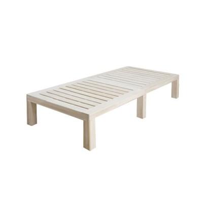 ステージベッド セミシングル ベッドフレーム 幅80cm スノコベッド 桐すのこ 木製ベッド 寝具 シンプル ベッド インテリア 家具 LSSH-500SS