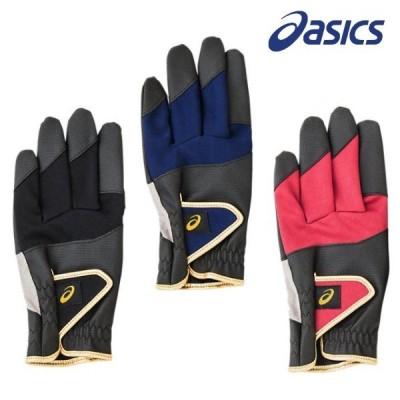 asics アシックス グラウンドゴルフ グローブ 手袋 パワーグリップ 左右一組 グランドゴルフ 用品