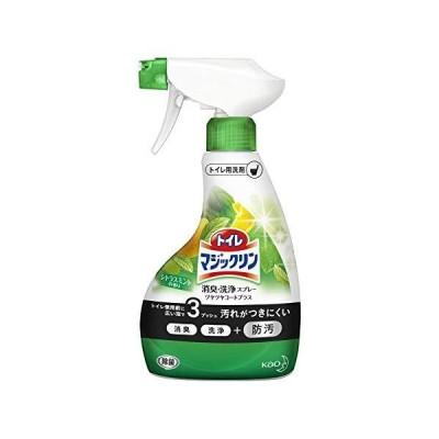 トイレマジックリン ツヤツヤコートプラス トイレ用洗剤 消臭・洗浄スプレー シトラスミントの香り 本体 380ml