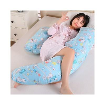 多機能 抱き枕 添い寝クッション 特大 ふわふわ マタニティー  ロングクッション 横向き寝枕 ネックピロ 人気 ふっくら ふんわり 男女兼用