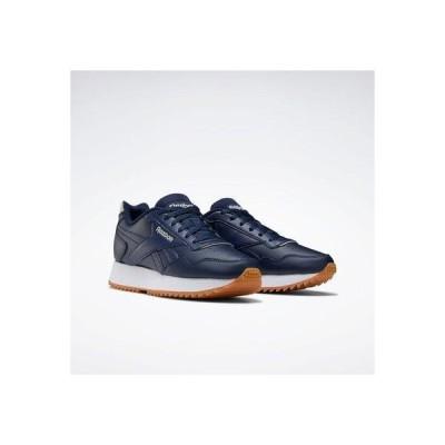 リーボック Reebok リーボック ロイヤル グライド リップル / Reebok Royal Glide Ripple Shoes (ブルー)