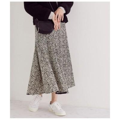 ROPE' / ロペ 小花柄プリントマキシマーメイドスカート