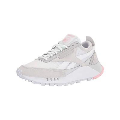 Reebok Women's Classic Legacy Sneaker, white/true grey/pure grey 6 medium U