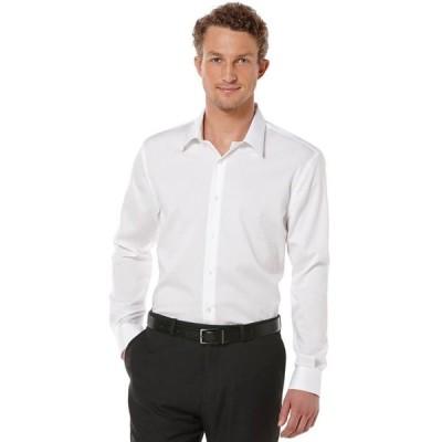 ペリーエリス メンズ シャツ トップス Big and Tall Long Sleeve Non-Iron Shirt