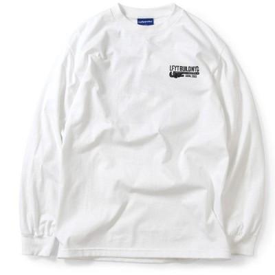 Lafayette ラファイエット NEVER BACK DOWN L/S TEE 長袖 Tシャツ LS200105 WHITE ホワイト