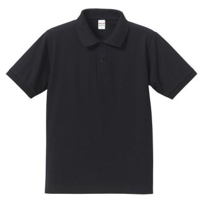 UnitedAthle ユナイテッドアスレ  5.3オンスドライ CVC ポロシャツ 505001 ネイビー
