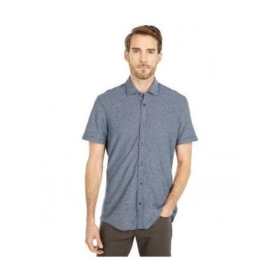 BOSS Hugo Boss ボス メンズ 男性用 ファッション ボタンシャツ Rash Button-Up Shirt - Dark Blue