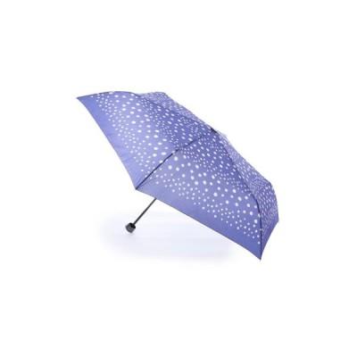 AURORA / La pioggia ドット柄クイックオープンミニ折りたたみ傘 IO17413-13