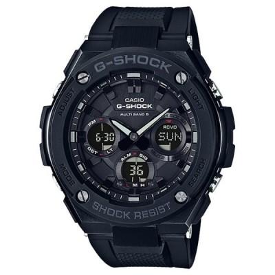 【正規品】カシオ CASIO Gショック G-STEEL 電波ソーラー GST-W100G-1BJF ブラック文字盤 新品 腕時計 メンズ