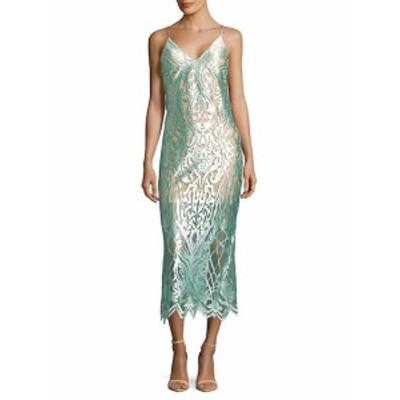 レディース ワンピース Intricate Mesh Slip Dress