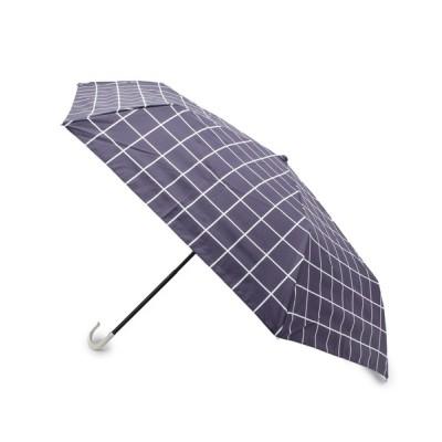 SOUP / because ウィンドウペン折りたたみ傘 WOMEN ファッション雑貨 > 折りたたみ傘