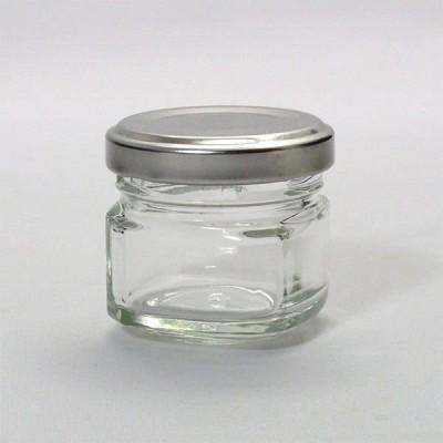ガラス瓶 ジャム瓶 A30 四角 32ml
