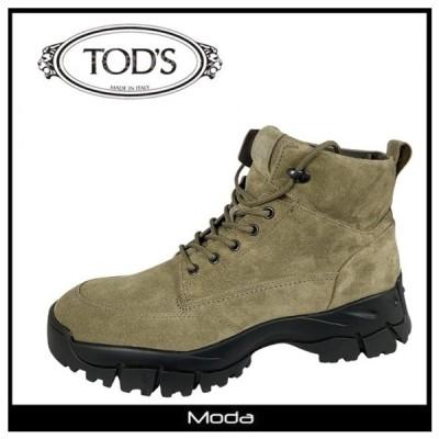 トッズ ブーツ TODS 靴 メンズレースアップ マウンテンブーツ