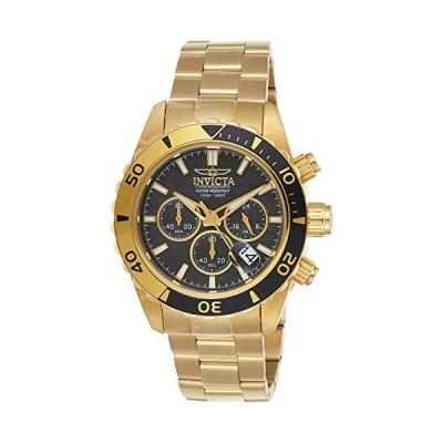 インビクタ Invicta Men's 20187SYB Pro Diver Analog Display Quartz Gold-Tone Watch 並行輸入品