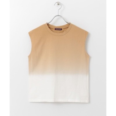 tシャツ Tシャツ グラデーションノースリーブカットソー∴