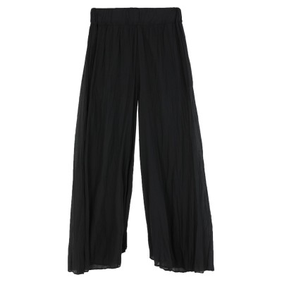 EUROPEAN CULTURE パンツ ブラック M コットン 99% / ポリウレタン 1% パンツ