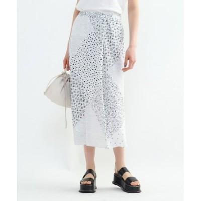 モノパネルプリントスカート