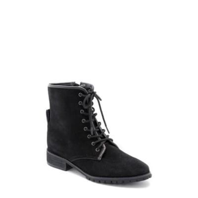 ブロンド レディース ブーツ&レインブーツ シューズ Prima Waterproof Lace-Up Boot BLACK SUED