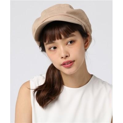 salle de bal / リネン素材マリンキャスケット WOMEN 帽子 > キャスケット