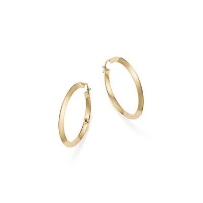 ロバートコイン レディース ピアス・イヤリング アクセサリー 18K Yellow Gold Oro Classic Hoop Earrings