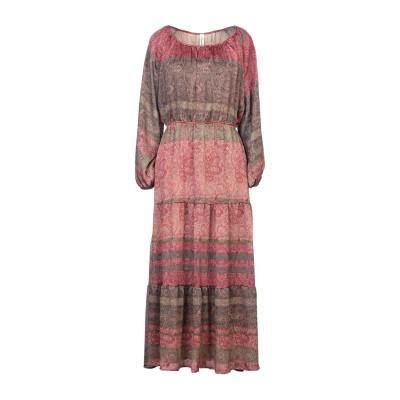 スーベニア SOUVENIR ロングワンピース&ドレス パステルピンク S ポリエステル 100% ロングワンピース&ドレス