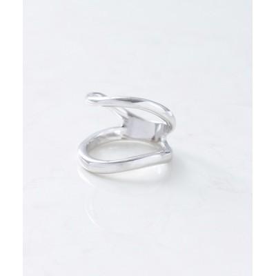 NOIR DE POUPEE / silver925 ウェーブダブルラインリング(ニッケルフリー) WOMEN アクセサリー > リング