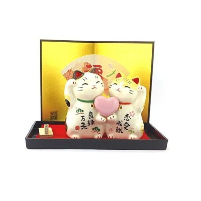 Maneki Neko???Japanese Lucky Cat???Love  # 7351? by Waraku