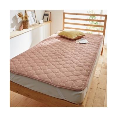 綿100%先染め2重ガーゼ敷きパッド 敷きパッド・敷パッド, ベッドパッド, Bed pats(ニッセン、nissen)