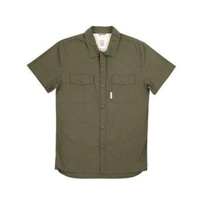 トポ・デザイン メンズ シャツ トップス Topo Designs Men's Field SS Shirt