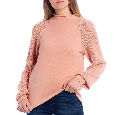 ジェシカシンプソン レディース パーカー・スウェット アウター Saskia Mock Neck Sweater