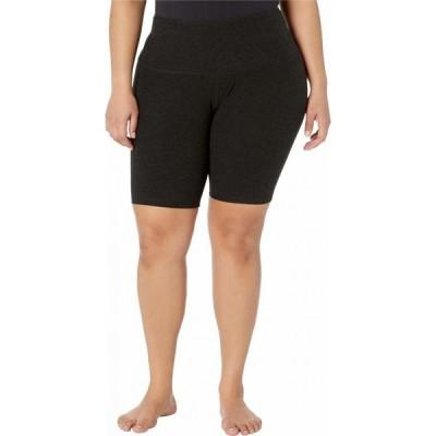 ビヨンドヨガ Beyond Yoga レディース 自転車 大きいサイズ ショートパンツ ボトムス・パンツ Plus Size High Waisted Biker Shorts Darkest Night