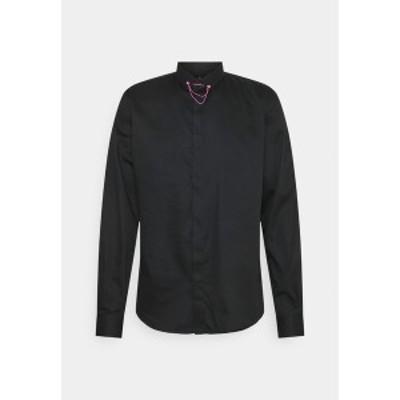 ツイステッドテイラー メンズ シャツ トップス LYNTON - Formal shirt - black black