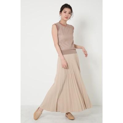 Irregular Pleats Skirt BEG